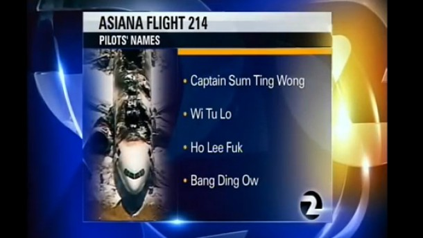 Bild / Asiana Flight 214