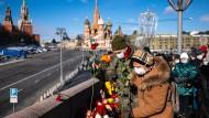 Irgendwo ein deutscher Diplomat oder Journalist? Erinnerung an den in Sichtweite des Kremls ermordeten Boris Nemzow