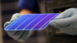 Solarworld stellt Produktion ein