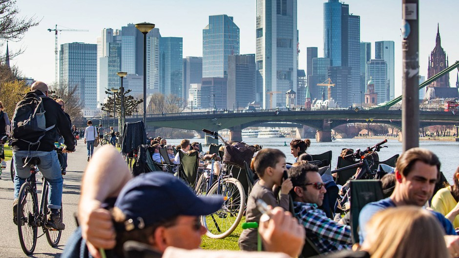 Durchmischtes Publikum: Mit einem Migrantenanteil von rund 53 Prozent ist Frankfurt besonders multi-kulturell.