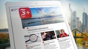 Das neue Tor zur digitalen Welt der F.A.Z.