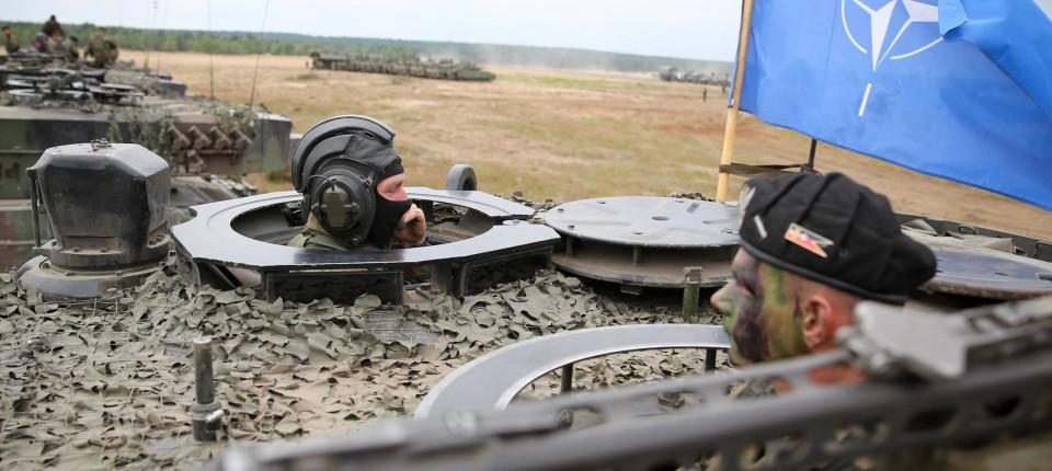 Ursula von der Leyen besucht Nato-Manöver in Polen