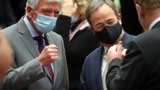 Bouffier kritisiert Brinkhaus scharf