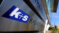 Das Hauptquartier des Düngemittelherstellers K+S in Kassel