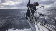 Alles geben, bis zur letzten Seemeile: Boris Herrmann hat bei der Vendée Globe immer noch Chancen auf den Sieg.