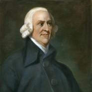 Adam Smith auf einem Gemälde von Charles Smith