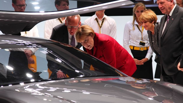 Merkel und die doppelte Weltpremiere