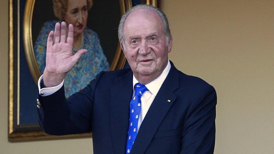Der frühere spanische König Juan Carlos (Archivbild)