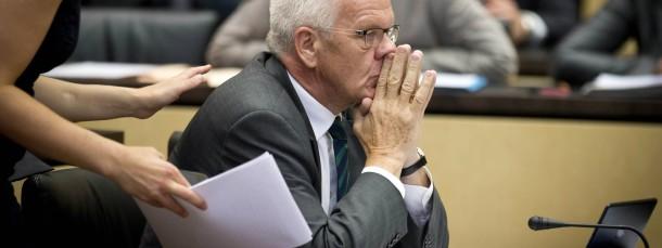 Winfried Kretschmann stimmte im Bundesrat gegen den Willen der Grünen