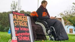 Klimaaktivisten brechen Hungerstreik ab