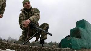 Klitschko trainiert bei Schießübung Panzerabwehr