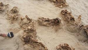 Mehr als 500 Jahre altes Kinder-Massengrab entdeckt