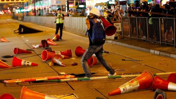 Das Chaos in Hongkong hält an
