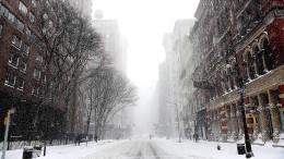 Chaos durch Schnee und Kälte