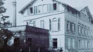 Hier lebte die Familie Sulzbacher: Das 1945 bei Bombenangriffen zerstörte jüdische Gemeindehaus