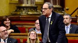 Quim Torra zum Regionalpräsidenten von Katalonien gewählt