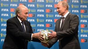 Ein Kampf im Fifa-Schaufenster