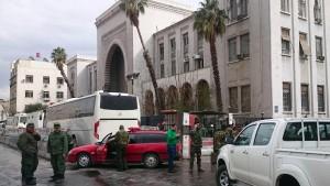 Viele Tote bei Doppelanschlag in Damaskus
