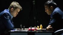Das Duell der Köpfe: Magnus Carlsen (l.) gegen Viswanathan Anand