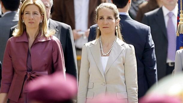 Empörung über Schwestern von König Felipe VI.