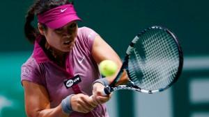 Serena und Li Na im Finale