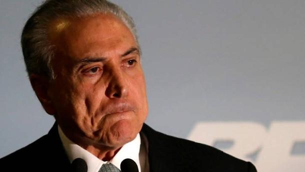 Ermittlungen gegen Brasiliens Präsident Temer