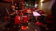 Knall löst Massenpanik in Südfrankreich aus