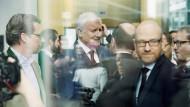 Noch Klärungsbedarf: Vertreter von CDU und CSU am Sonntag in München