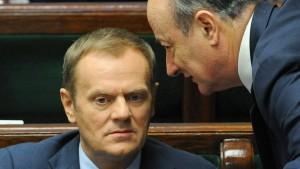 Tusk deutet Referendum über Euro-Beitritt an
