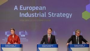 Wie die EU-Kommission die Industrie fördern will