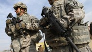 Amerikanische Soldaten 2009 in Kabul