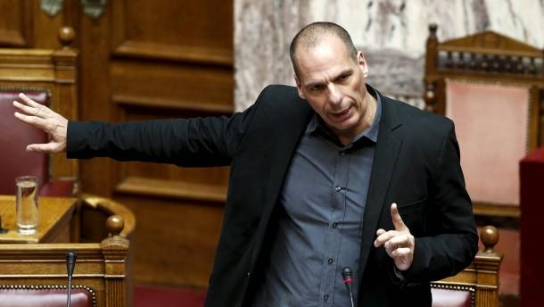 Varoufakis dringt auf Schuldenschnitt