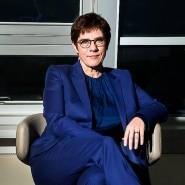 """""""Der Verzicht auf Vorsitz und Kanzlerkandidatur war die richtige Entscheidung"""": Kramp-Karrenbauer im Dezember 2019 in der CDU-Bundesgeschäftsstelle."""