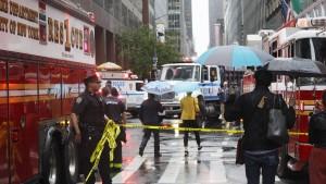 """""""Der Helikopter hätte in der Mitte des Times Square herunterkommen können"""""""