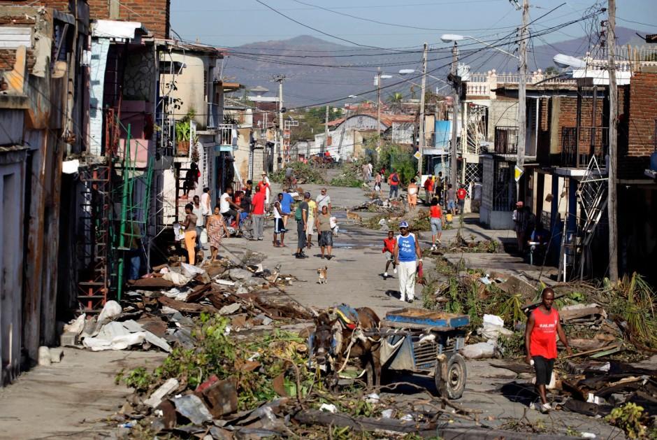 Bildergalerie Sturmsch 228 Den In Der Karibik Sandys