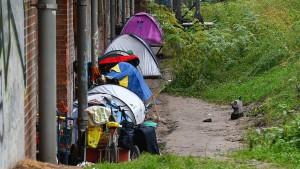 Obdachlosen-Zeltlager im Tiergarten-Park geräumt