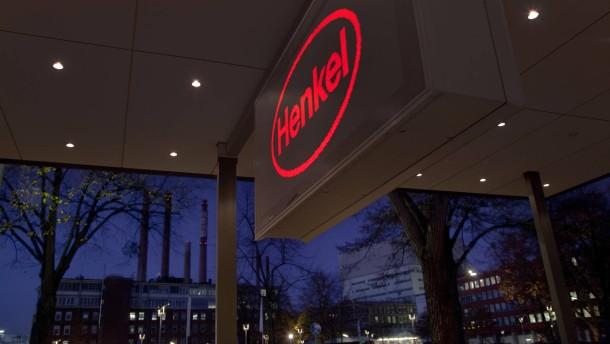Überschäumende Freude über Henkels Aktienkurs