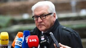 Bundesaußenminister Frank-Walter Steinmeier (SPD) am Donnerstag in Brüssel