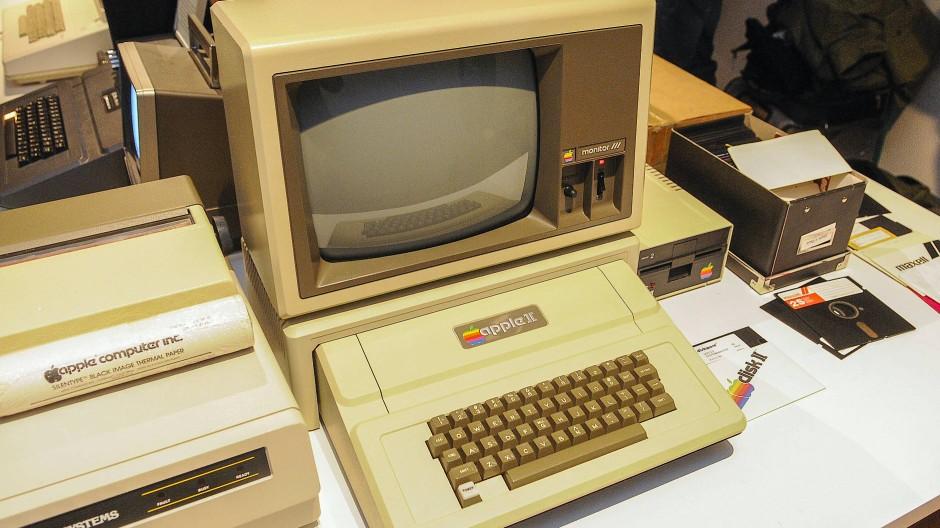 1977 eingeführt, 1993 eingestellt: der Apple II