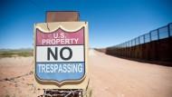 Zutritt verboten: Schon jetzt ist die Grenze zwischen den Vereinigten Staaten und Mexiko an manchen Stellen gut gesichert.