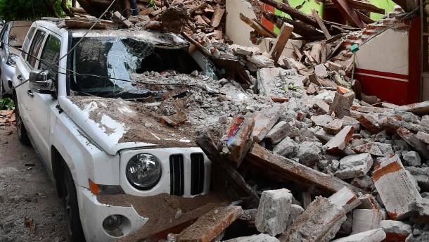 Opferzahl nach Erdbeben steigt
