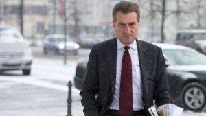 Oettinger sorgt mit Türkei-Äußerungen für Wirbel