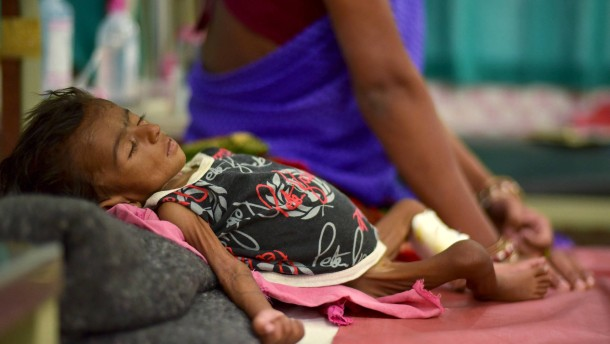 Ohne Hilfe werden Millionen Kinder sterben