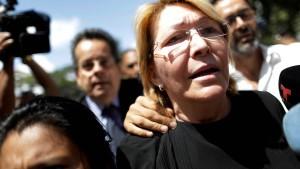 Die Frau, der Maduro nicht traute