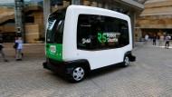 Japans erster autonomer Minibus