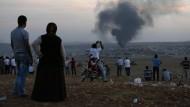 Türkei verlangt Pufferzone an der Grenze zu Syrien