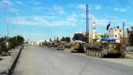 Offensive gegen Rebellen bei Damaskus