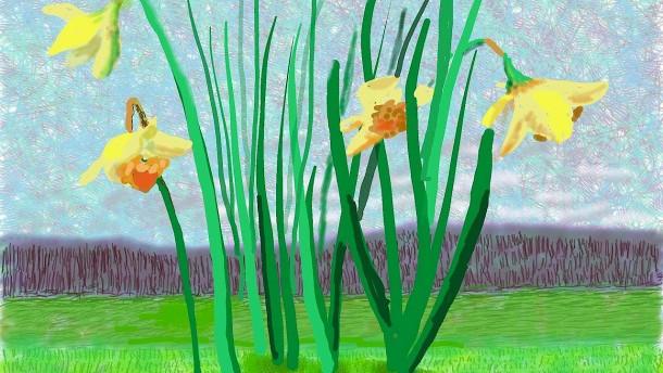 Denkt daran, dass der Frühling nicht gestrichen werden kann