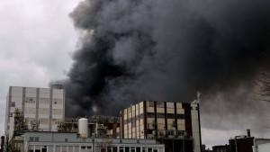 Bei Explosion in Chemiepark ein Todesopfer