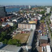 Hamburg: Blick auf das ehemalige Esso-Häuser-Areal.